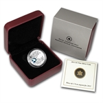 2012 1/4 oz Silver Canadian $3 Birthstone Coin - March Aquamarine
