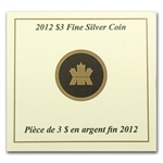 2012 1/4 oz Silver Canadian $3 Birthstone Coin - November Topaz