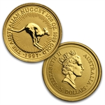 1990-1999 1/20 oz Australian Gold Nugget 10 Coin Set (Box & CoA)