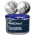 2012 5 oz Silver ATB El Yunque, PR (10-Coin MintDirect®)