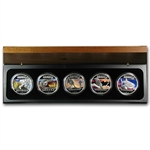 2012 1 oz Proof Silver Discover Australia 5-Coin Set
