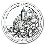 2012 5 oz Silver ATB Acadia, ME (10-coin MintDirect®)