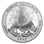 2012 5 oz Silver ATB - Hawaii Volcanoes National Park, Hawaii