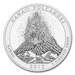 2012 5 oz Silver ATB Hawaii Volcanoes, HI (Sealed Monster Box)