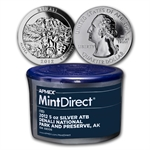 2012 5 oz Silver ATB Denali (10-coin MintDirect®)