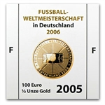 Germany 2005 100 Euro Gold Coin (.500 ozt AGW)