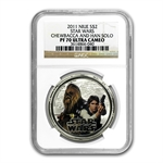 2011 Star Wars Proof Silver 4-Coin Set - Rebels NGC PF-70 UCAM