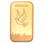 1 oz Holy Land Mint Dove of Peace Gold Bar (In Assay) (Dec 19th)