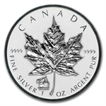 2012 1 oz Silver Canadian Maple Leaf - Titanic Privy