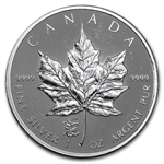 2012 1 oz Silver Canadian Maple Leaf - Dragon Privy