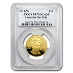2011-W 1/2 oz Proof Lucretia Garfield PCGS PR-70 DCAM