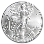 2011 Silver American Eagle - MS-69 PCGS - 25th Anniversary