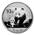2012 Silver Chinese Panda 1 oz - MS-69 NGC (Early Releases)