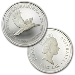 1995 Proof Silver Australian Kookaburra 4 Coin Set