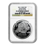 2011 Star Wars 1oz Silver NGC PF-69 UCAM - Death Star