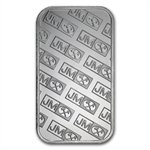 1 oz Johnson Matthey Silver Bar (New-JM Logo Reverse) .999 Fine