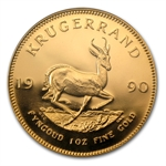 1990 1 oz Proof Gold South African Krugerrand