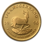 1996 1/4 oz Proof Gold South African Krugerrand
