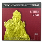 2011 Israel Queen Esther Proof Gold Medal AGW .188 oz