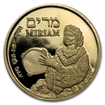 2010 Israel Miriam Proof Gold Medal AGW .188 oz