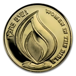 2011 Israel Deborah Proof Gold Medal AGW .188 oz