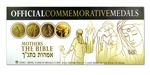 2007-2008 Israel Mothers in The Bible Smallest Gold 4 Medal Set