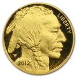2012-W 1 oz Proof Gold Buffalo PF-70 NGC (Early Releases)