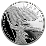 2012-P Star Spangled Banner $1 Silver Commemorative - Proof