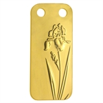 Iris - 1/5 oz Proof Gold Pamp Ingot Pendant