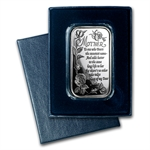1 oz Mother's Day Silver Bar (w/Box & Capsule)
