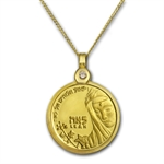 Israel Leah Gold Necklace - AGW 0.0729 oz
