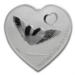 Palau 2012 Silver $2 My Heart Flies for You