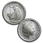 2012 4-coin Silver Britannia Set - Proof (w/box & CoA)