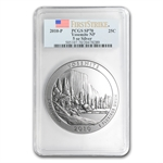 2010-P 5 oz Silver ATB Yosemite PCGS SP-70 PCGS First Strike