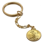 2013 1/10 oz Gold Eagle Key Ring