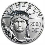 2003 1/2 oz Platinum American Eagle - Brilliant Uncirculated