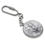 2013 1 oz Silver American Eagle Key Ring