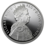 2012 Great Britain £5 Silver Queen's Diamond Jubilee - Proof