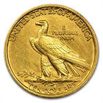 1907 $10 Indian Gold Eagle - Cleaned - First Year of Issue!