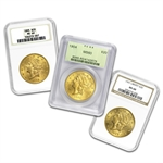$20 Gold Liberty Double Eagle - MS-60 PCGS/NGC