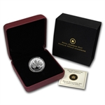 2012 1 oz Canadian $300 Platinum Maple Leaf Forever (W/Box)