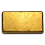 10 oz Loaf-Style Engelhard Poured Gold Bar .9999 Fine
