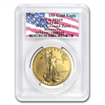 1991 1 oz Gold American Eagle MS-69 PCGS (World Trade Center)