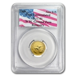 2000 1/10 oz Australian Gold Nugget WTC Ground Zero Gem Unc PCGS