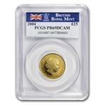 2004 4-Coin Proof Gold Britannia Set PCGS PR-69 Deep Cameo
