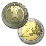 Germany Euro Coin Set - 8 Coins