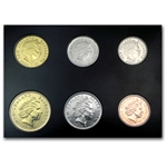 New Zealand Coin Set - 6 Coins
