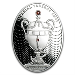 Niue 2011 Silver $2 Imperial Faberge Eggs- Duchess of Marlborough