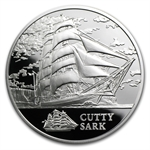 Belarus 2011 Silver Sailing Ships with Hologram - Cutty Sark