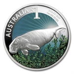 2012 1 oz Proof Silver Shark Bay ANDA Perth Show